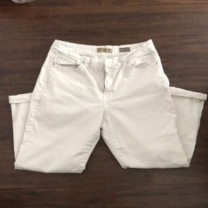 Nine West vintage white jean crop size 12 31 pant